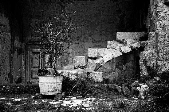derelict, The Sassi, Matera, Basilicata, Italy by Andrew Jones