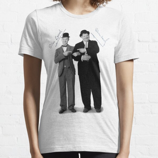 Laurel and Hardy Signature Essential T-Shirt