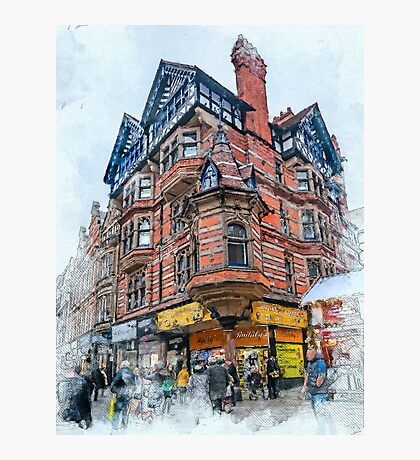 Nottingham art #nottingham Photographic Print
