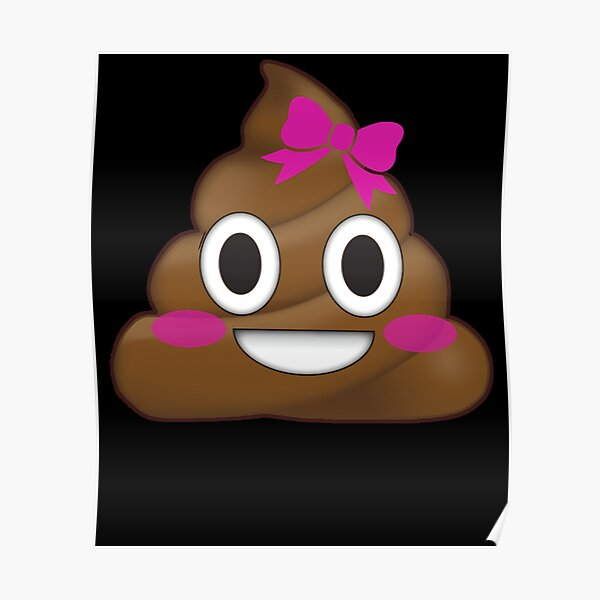Emoji Poo poop Daddy fun Love message Gift I Love The Sht Out of You boy girl