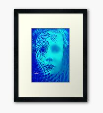 Shattered Doll Framed Print