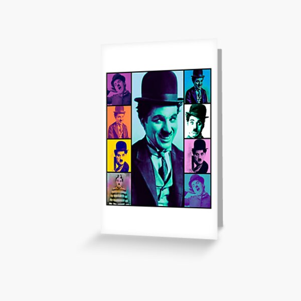 Charlie Chaplin Tarjetas de felicitación