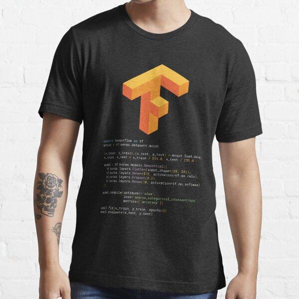 Tensorflow keras MNIST Essential T-Shirt
