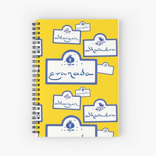 Granada · Alhambra · Albaicín Spiral Notebook