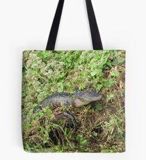 Gator Hangin Out Tote Bag