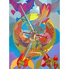 On the Four Winds Does My Heart Fly giclee print with borders by Denise Weaver Ross