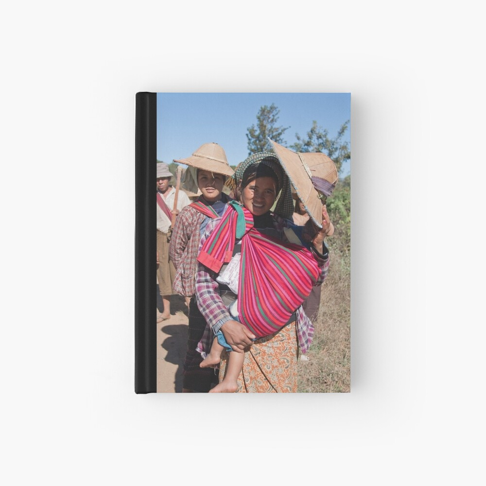 Heading home from the fields Hardcover Journal