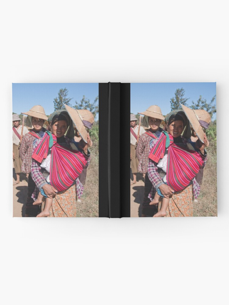 Alternate view of Heading home from the fields Hardcover Journal