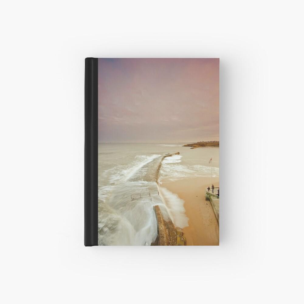 Avoiding the waves Hardcover Journal