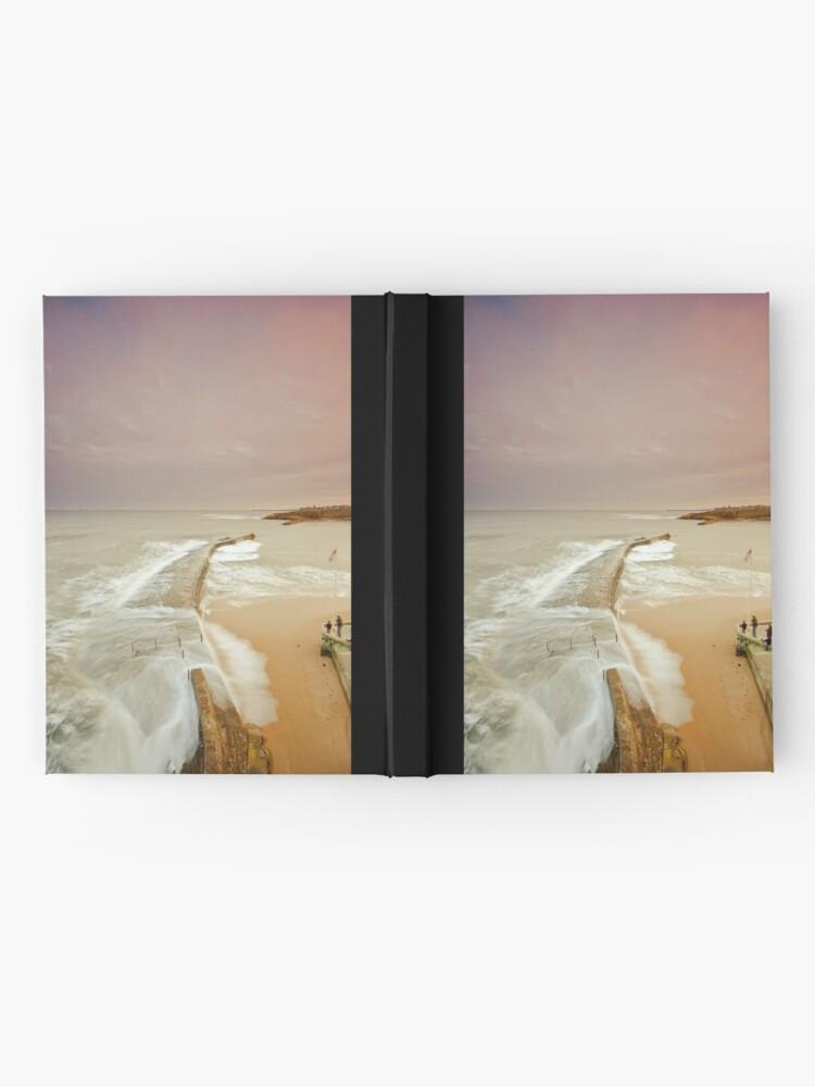 Alternate view of Avoiding the waves Hardcover Journal