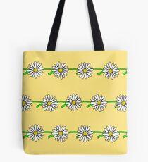 Daisy Chain, Yellow Tote Bag