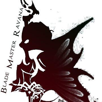 Final Fantasy XIV - Tribal Primal Ravana by Ruzzie