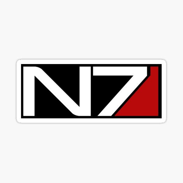 N7 - Black Sticker