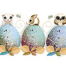 Easter Friends by Karin Taylor