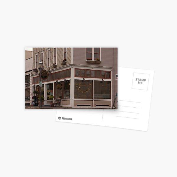 Building on the corner Postcard
