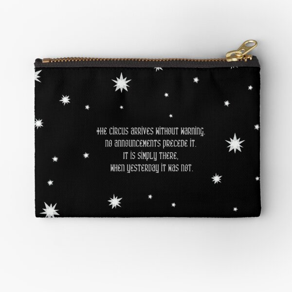 The night circus - At night Zipper Pouch