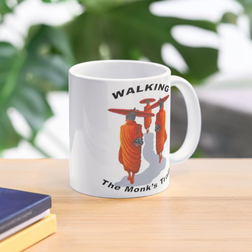 Walking The Monk's Trail Mug