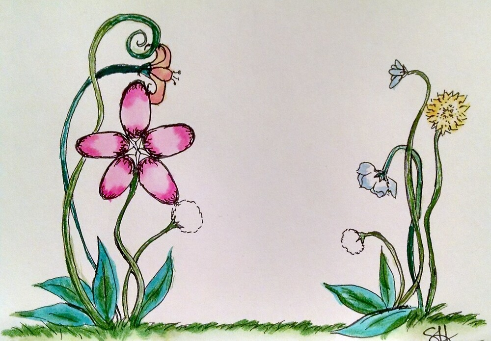 Little Flowers by sheyman