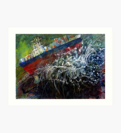 Cargo Gone Tropo Art Print