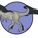 « Tyranotaure gris pommelé » par ScotisFr