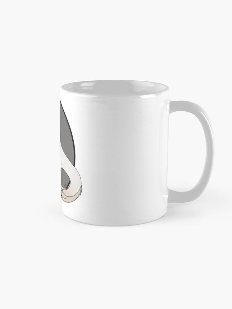 Mug ''Tyranotaure perlino': autre vue
