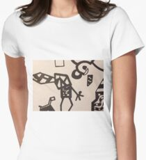 Futuristic Child Women's Fitted T-Shirt