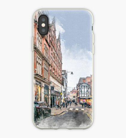 Nottingham art #nottingham iPhone Case