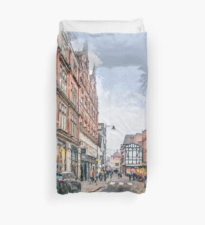 Nottingham art #nottingham Duvet Cover