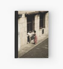 She came in through the Pub window Hardcover Journal