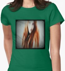 Red head girl Womens Fitted T-Shirt