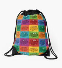 Pop Hippos Drawstring Bag