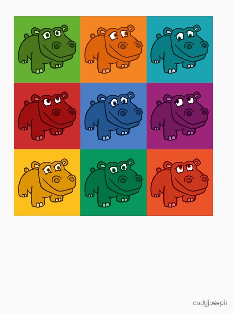 Pop Hippos by codyjoseph