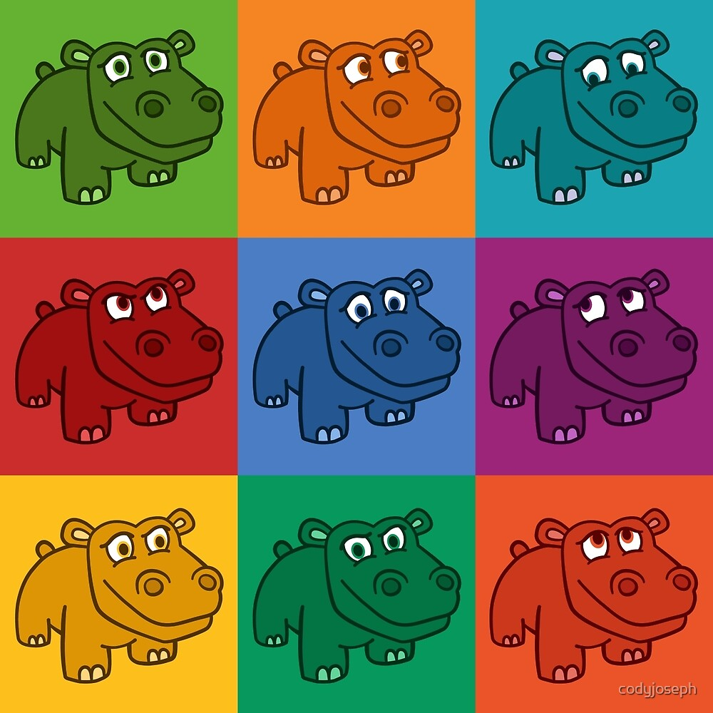 Pop Hippos by codyjoseph