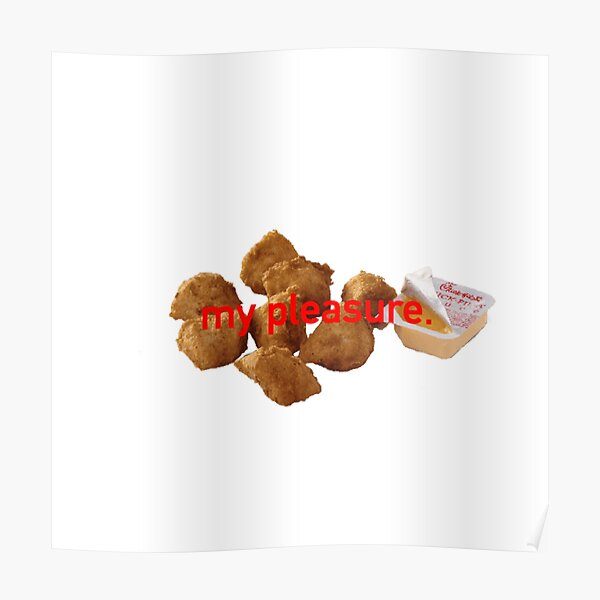 Chick-Fil-A Nuggets Poster