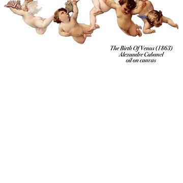 Die Geburt von Venus Angels Cabanel von nicoloreto