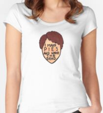 Pushing Daisies - Ned the Piemaker Women's Fitted Scoop T-Shirt