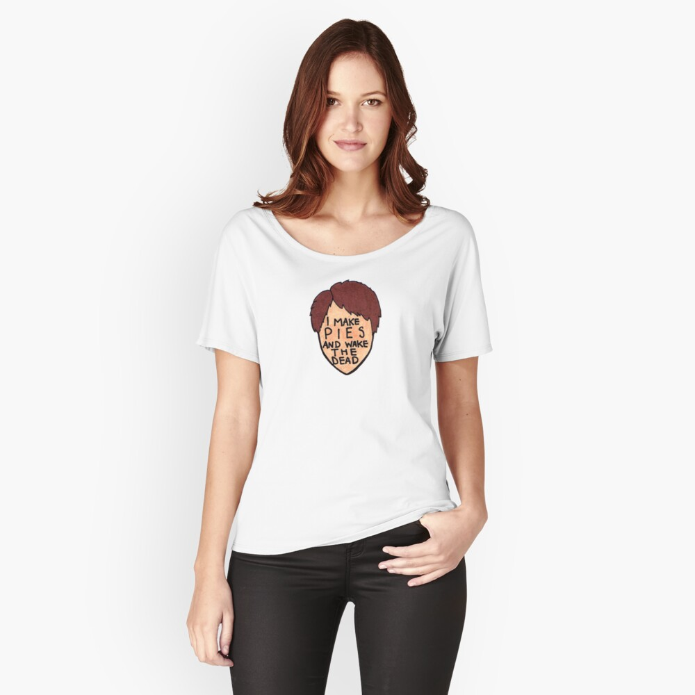 Pushing Daisies - Ned the Piemaker Women's Relaxed Fit T-Shirt Front