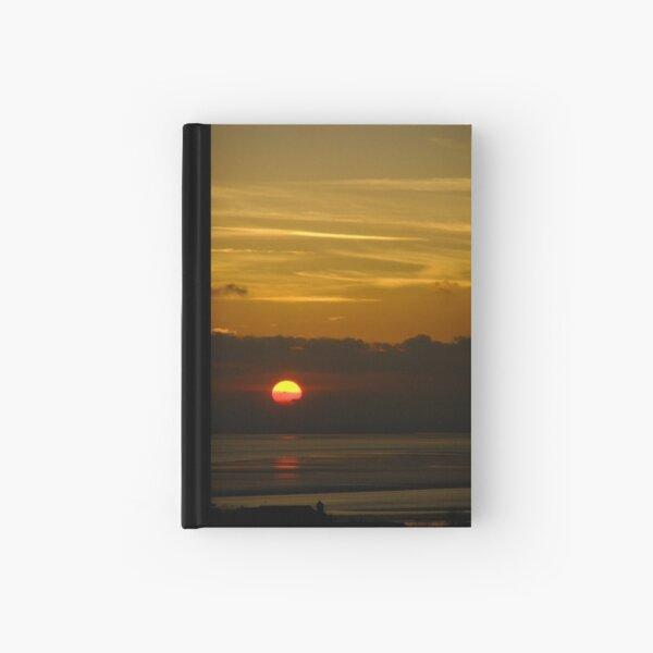 Sunset on River Thames Hardcover Journal