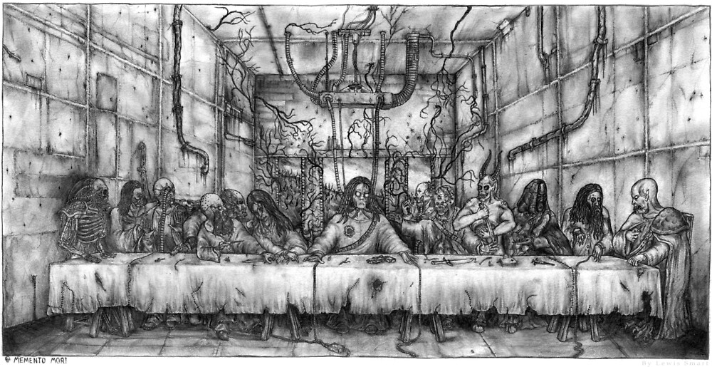 The Last Supper by Lewis Smart