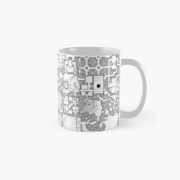 Dungeon Tile Print Classic Mug
