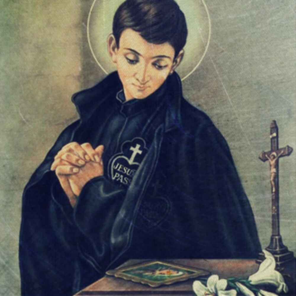 St. Gabriel of the Sorrowful Mother by M. Perry