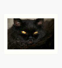 Yea, Y E A , Holloween, I know is a few months away.... Art Print