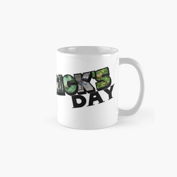 Happy St. Patrick's Day Big Letter Classic Mug