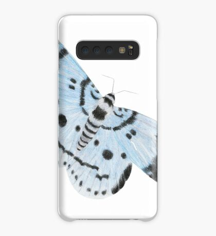 Blue Tiger Moth Case/Skin for Samsung Galaxy