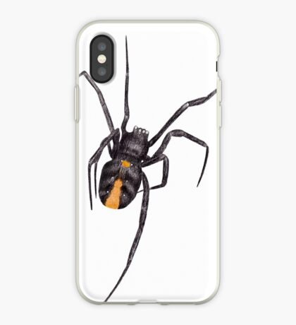 Red Back Spider iPhone Case