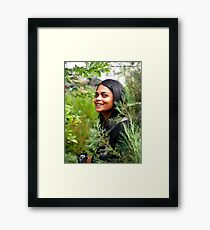 In the Moment Framed Print