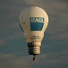 Light Bulb Balloon,Australia Day,Parramatta,Australia 2008 by muz2142