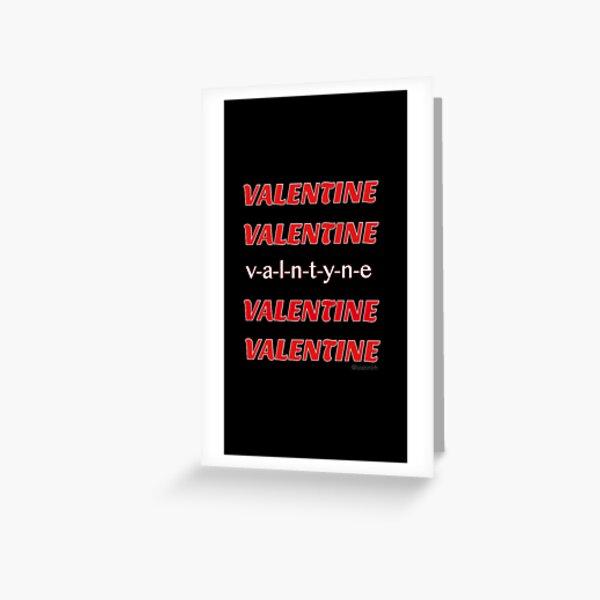 Valentine 5SOS Greeting Card
