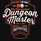 DUNGEON MASTER D&D Tshirt DM GM  by Carl Huber