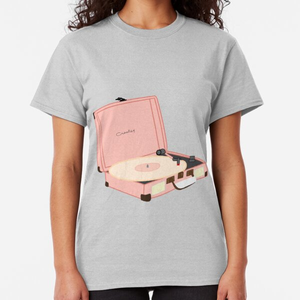 Vintage Pink Record Player Classic T-Shirt